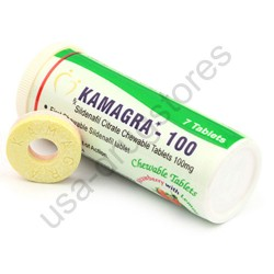 Kamagra 100 Chewable Strawberry with lemon