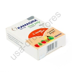 Kamagra 100mg Oral Jelly 1 Week Pack 7 Assorted Flavours