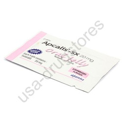 Apcalis SX 20 mg Oral Jelly Strawberry Flavor